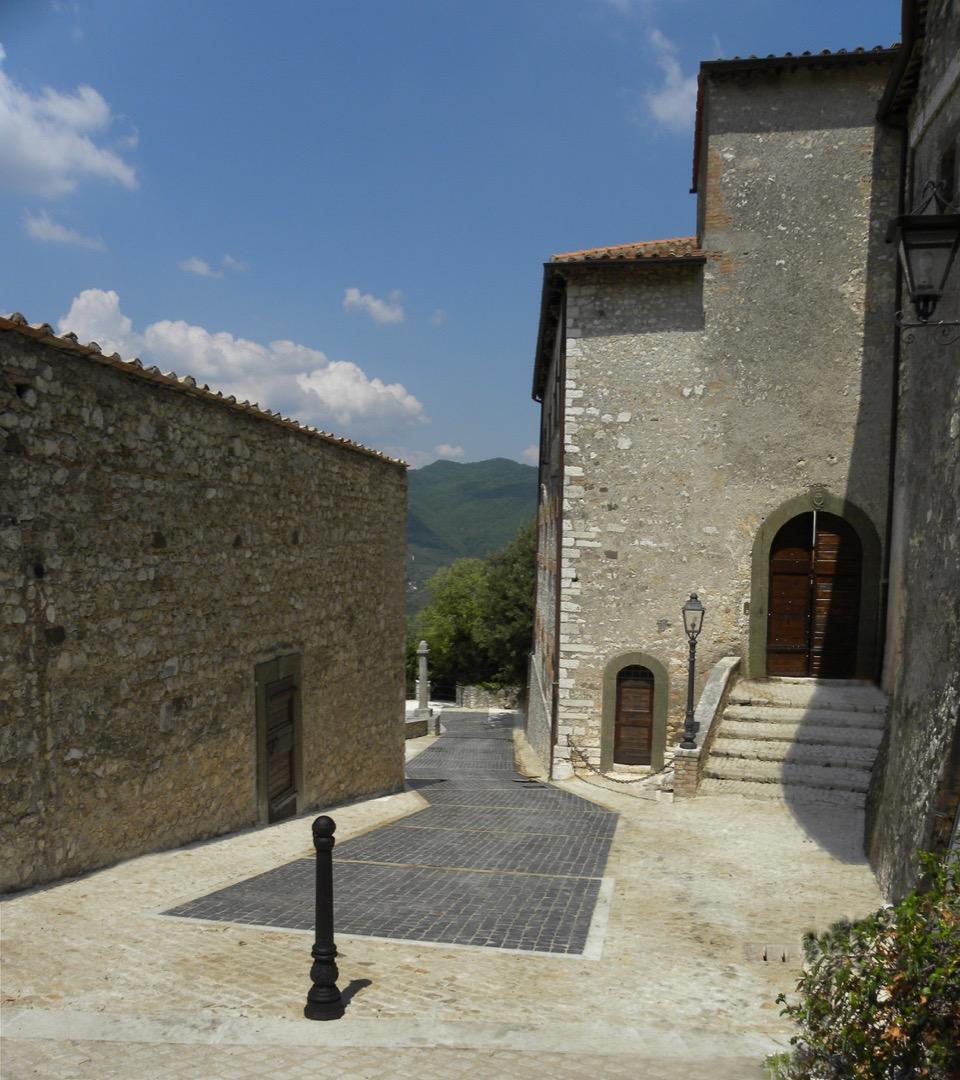 Roccagiovine - Riqualificazione centro storico